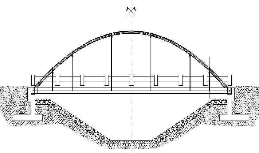 Puente Arco Metalico