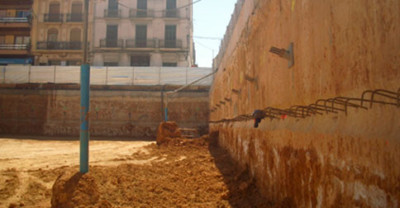 Cálculo de muros pantalla en Valencia