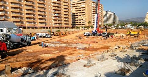 Cimentaciones especiales en Valencia