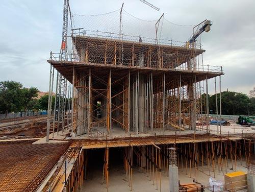 Construcción de edifico de oficinas en Valencia