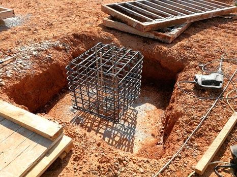 """Encepado de cimentación mediante pilotes """"in situ"""""""