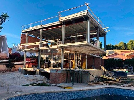 Construcción de vivienda unifamiliar en Torrente (Valencia)